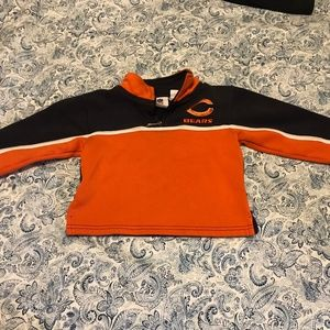 Chicago Bears NFL Kids' Zipper Sweatshirt Size 3T